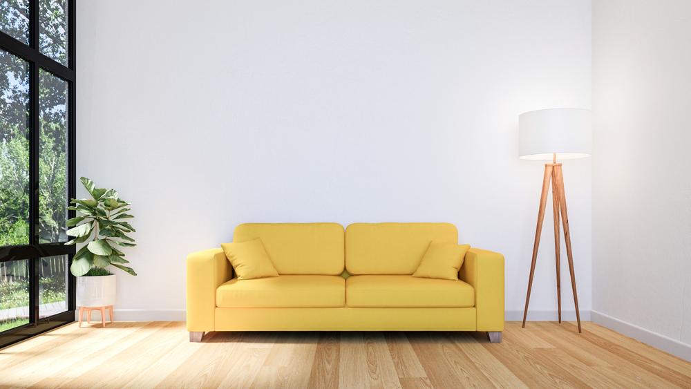 Como renovar o seu sofá gastando pouco? (Foto: Depositphotos_317129304_s-2019)